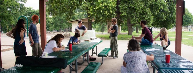 Friends of Patterson Park meeting, June 10, 2016