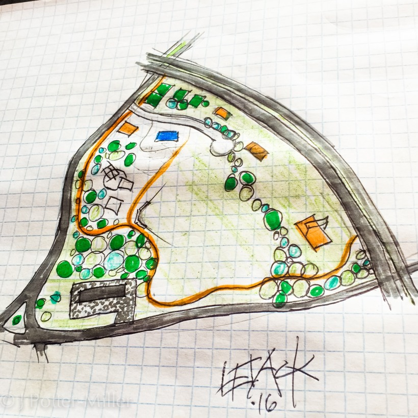 Patterson Park map by Chris Levack