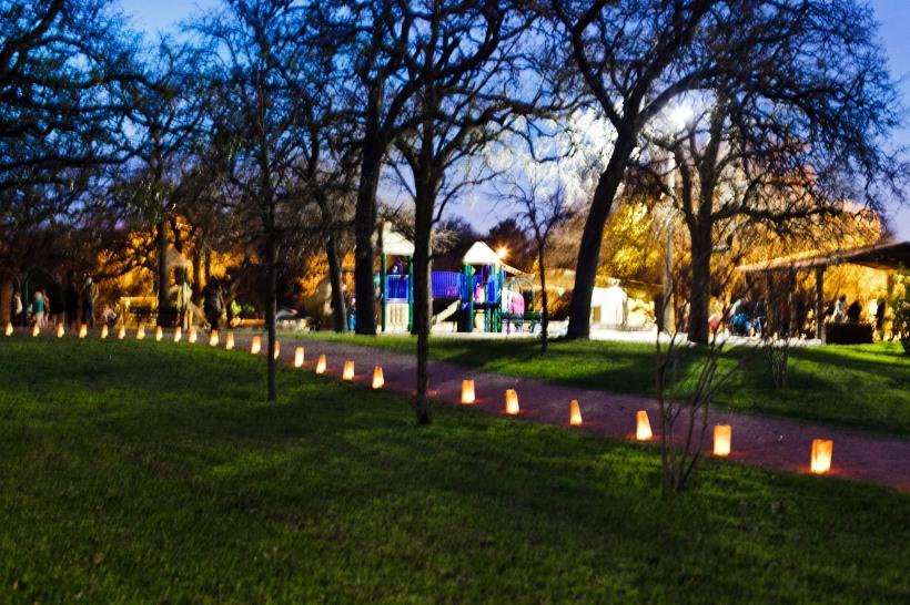 Patterson Park Luminarias 2015