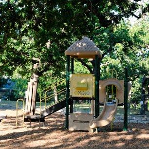 Patterson Park playground repairs 2017