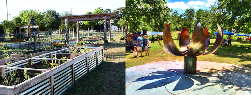 Patterson Park Community Garden Grand Opening and Dance of the Cosmos Unveiling