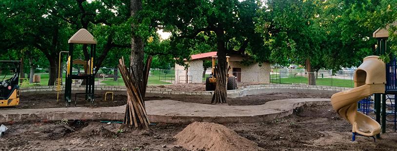 Patterson Playground repairs 2017