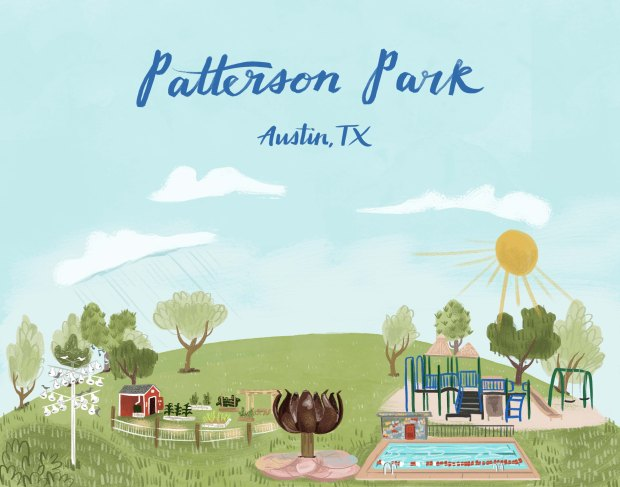 Patterson Park Illustration by Caitlin B. Alexander