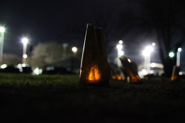 Patterson Luminarias January 2017. Photo by J. Potter-Miller/FoPP.