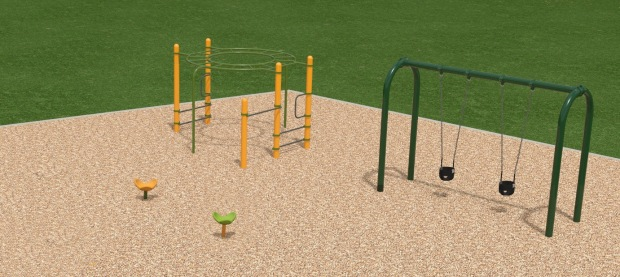 proposed Patterson Park playground addition