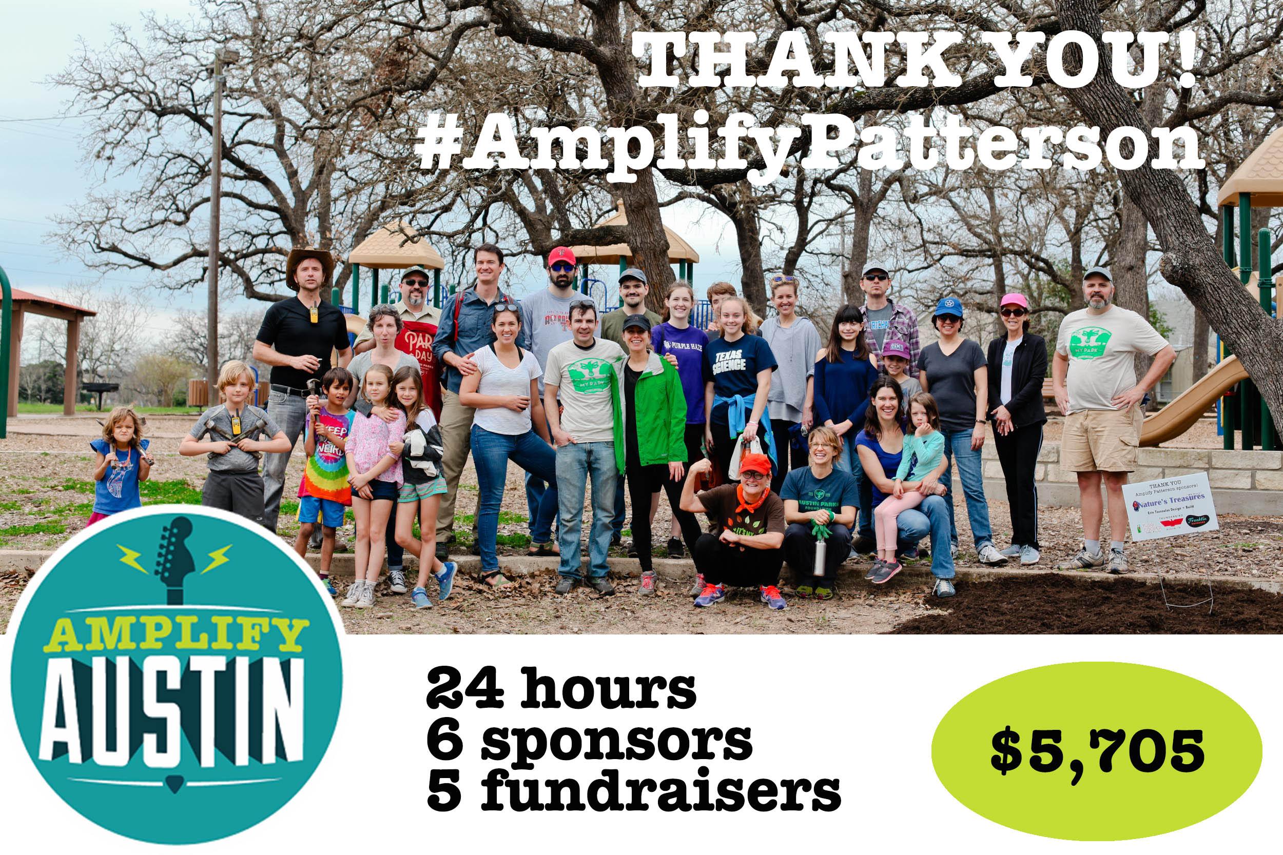 Amplify Patterson 2018 thank you