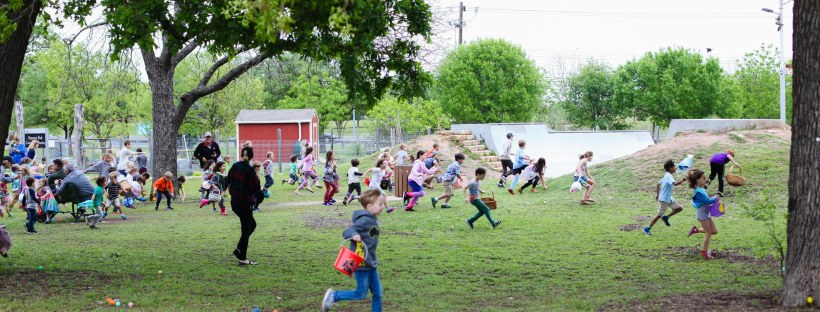 Patterson egg hunt March 31, 2018. Photo by J. Potter-Miller/FoPP.
