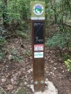 Violet Crown trail sign