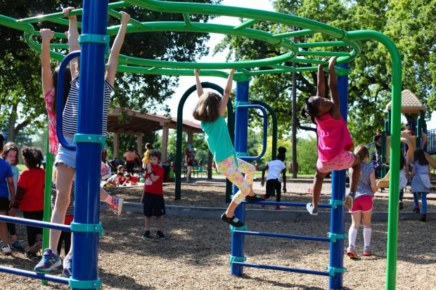 Friends of Patterson Park wants to invite our community to join us for a celebration of our new playground equipment and park furnishings on September 7. We will have refreshments, face painting, and kite flying, and an opening ceremony with District 9 Council Member Kathie Tovo and representatives from the Austin Parks and Recreation Department, City of Austin Public Works, Austin Parks Foundation.