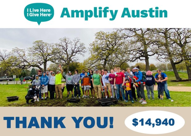 FOPP raises $14,940 during Amplify Austin 2020